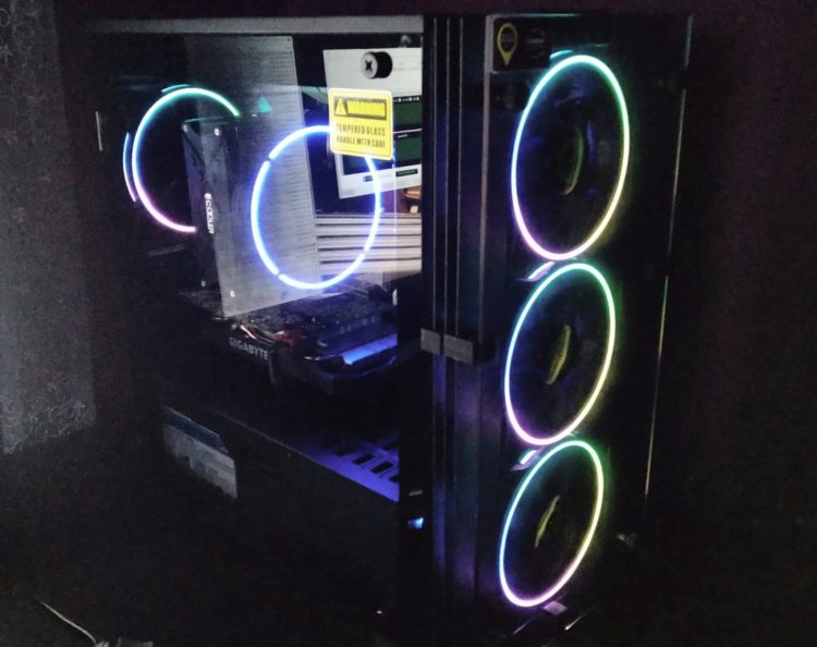 Cooler PCCooler GI-X6B BLUE, photo 17