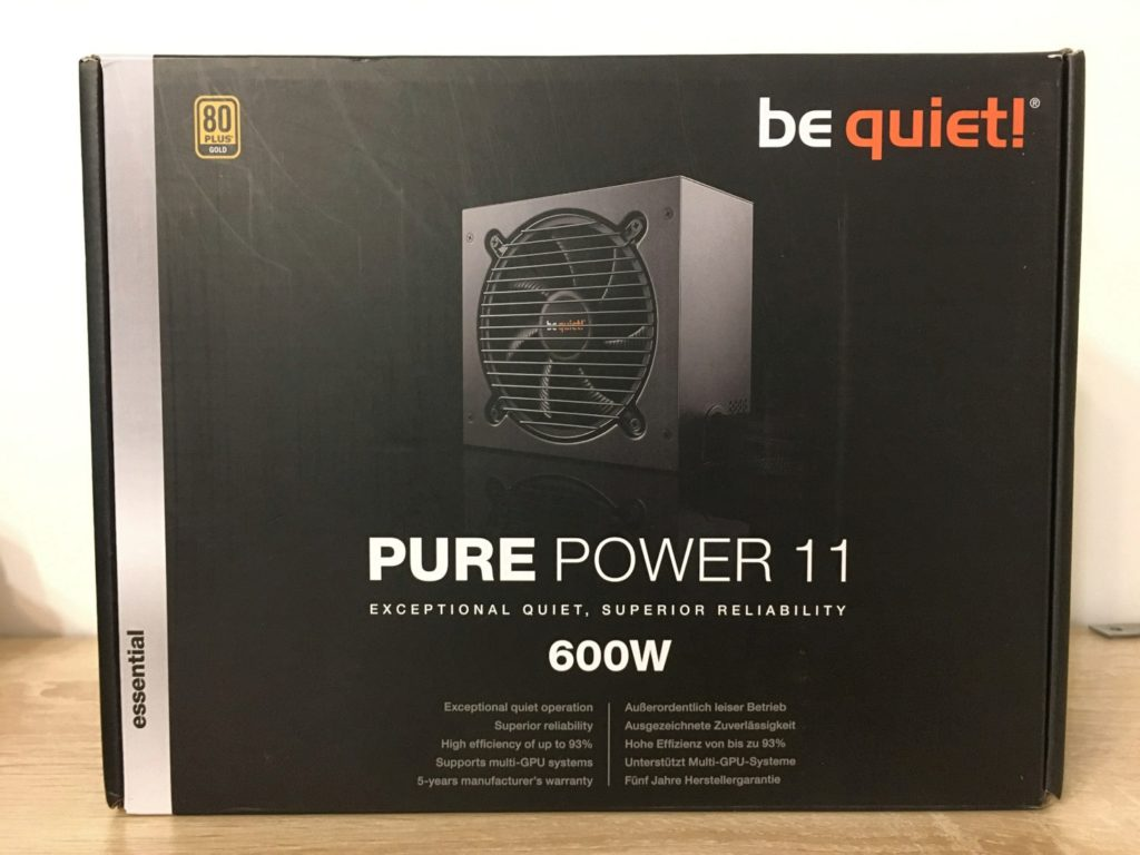 Review on BeQuiet PURE POWER 11 600W Gold BN294 Power Supply - Image 1