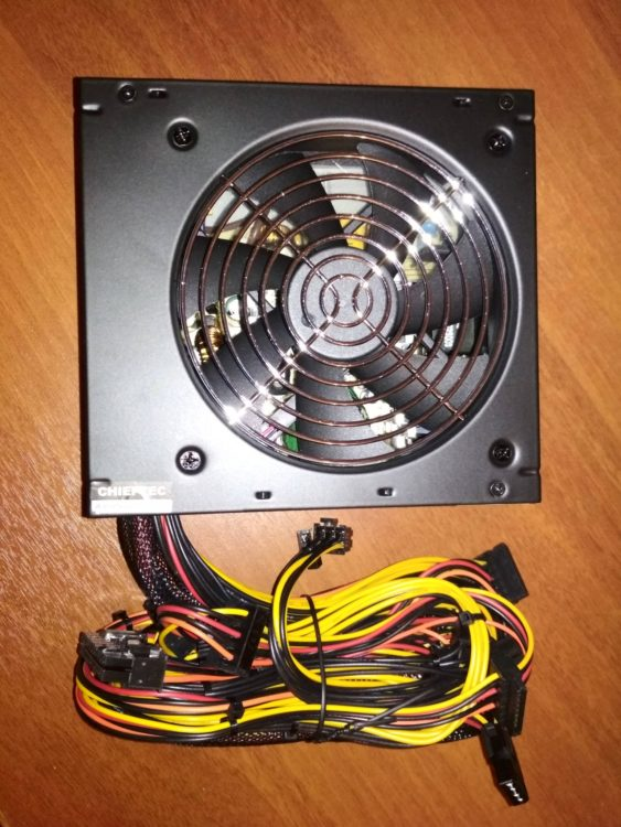 Chieftec ELP-700S Element 700W Power Supply, image 1