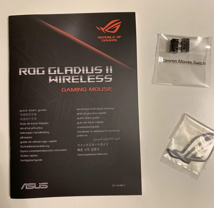 ASUS ROG Gladius II Wireless Mouse - Image 31