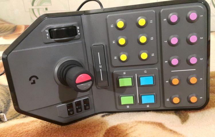 Logitech G Saitek Farm Sim Vehicle Side Panel USB, image 5