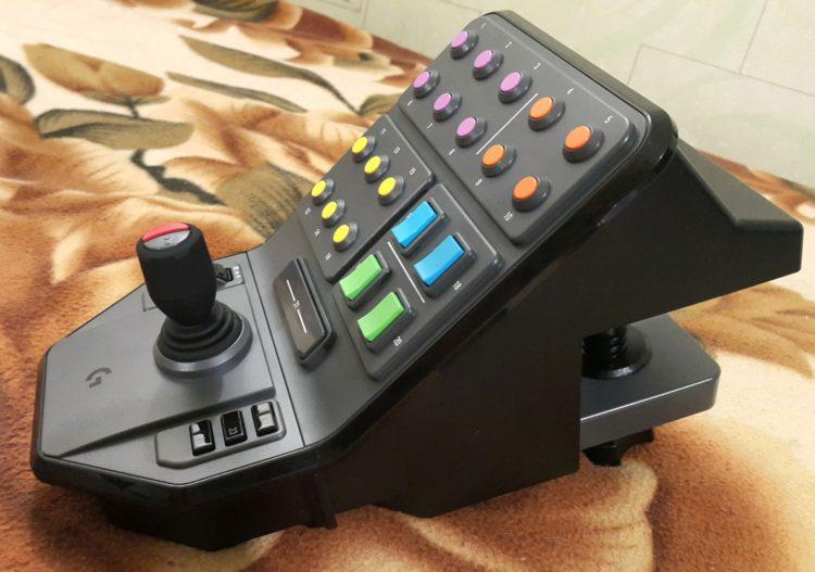 Logitech G Saitek Farm Sim Vehicle Side Panel USB, image 8