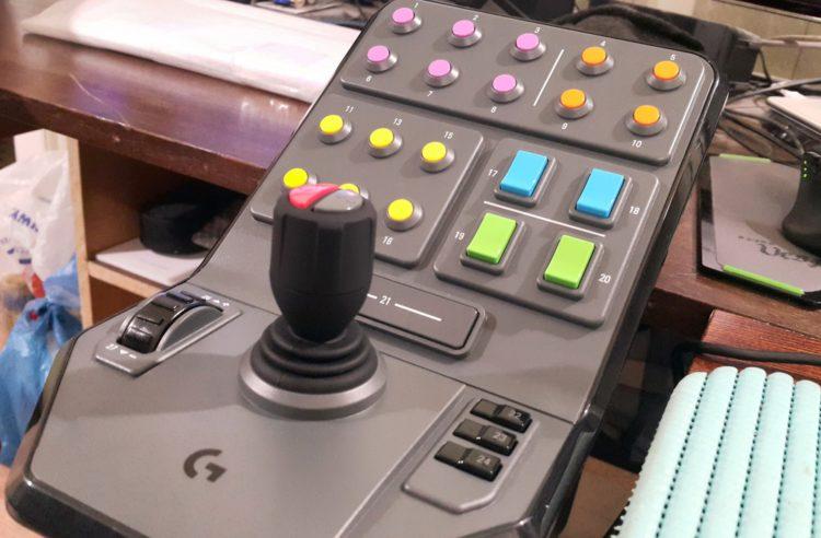 Logitech G Saitek Farm Sim Vehicle Side Panel USB, image 9