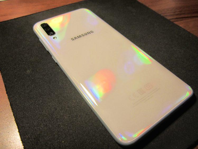 Samsung Galaxy A70 (2019) 128Gb White, image 10