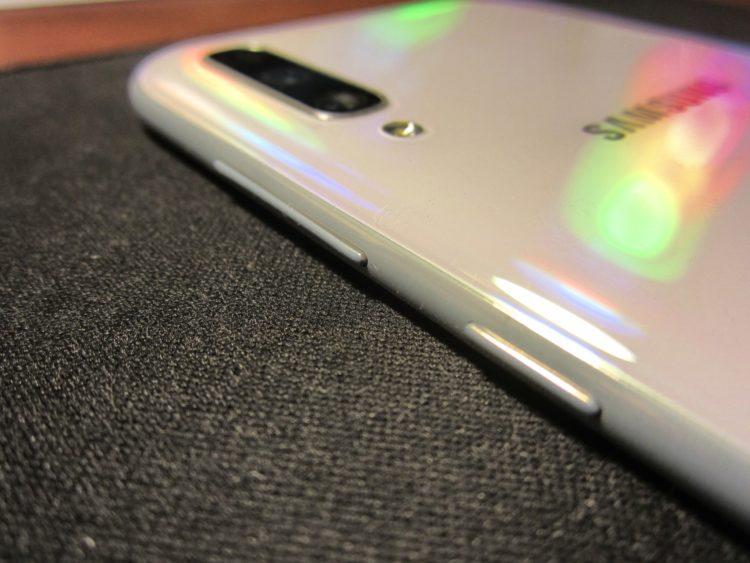 Samsung Galaxy A70 (2019) 128Gb White, image 11