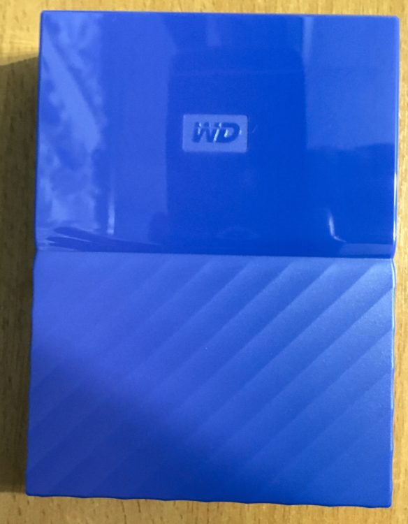 "Western Digital My Passport 2.5"" 4.0Tb USB 3.0 WDBUAX0040BBL-EEUE Blue Hard Drive, image 12"