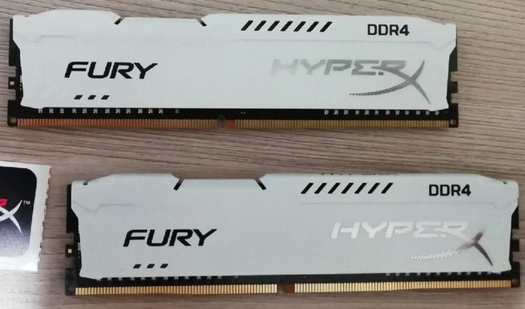 Kingston DDR4 16GB PC-21300 HyperX FURY White HX426C16FW2K2/16 image 13