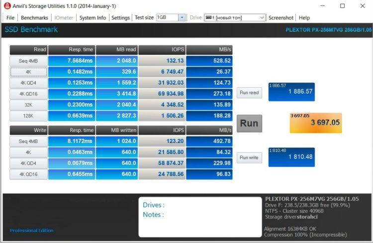 Plextor M.2 M7V 256GB SATA3 TLC PX-256M7VG, image 14