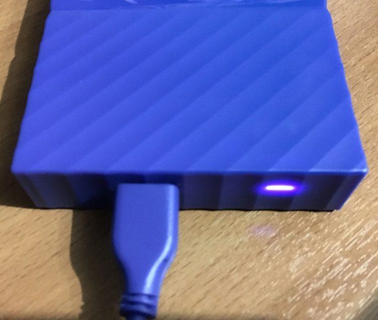 """Western Digital My Passport 2.5"""" 4.0Tb USB 3.0 WDBUAX0040BBL-EEUE Blue Hard Drive, image 15"""