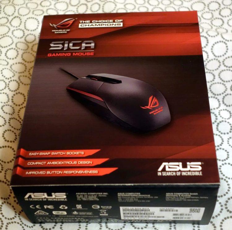 ASUS ROG Sica Steel Grey USB, image 17