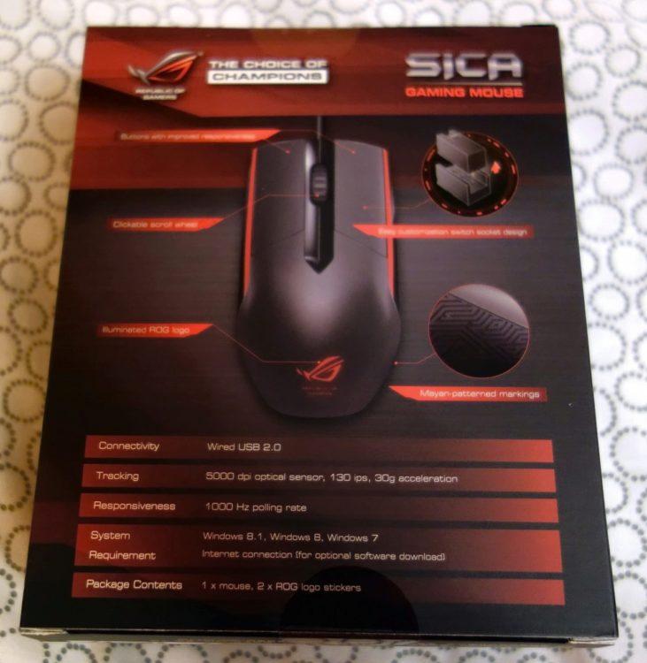 ASUS ROG Sica Steel Grey USB, image 18