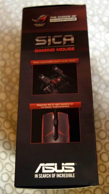 ASUS ROG Sica Steel Grey USB, image 19