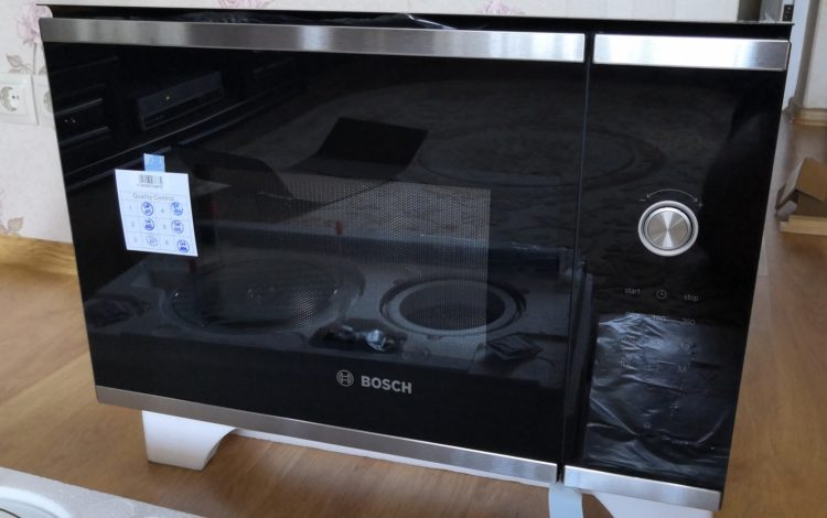Bosch Embedded Microwave BEL524MS0, image 1