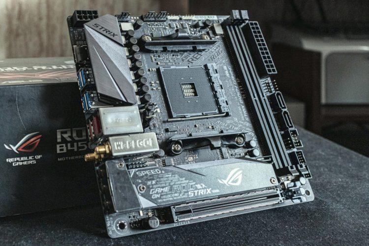 AM4 Asus ROG Strix B450-I Gaming Motherboard, image 1