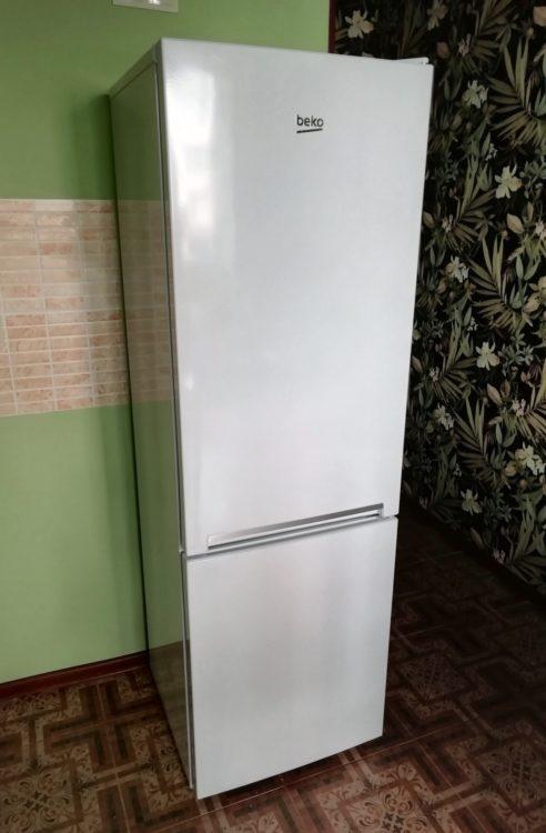 Refrigerator Beko RCNK270K20W, image 1