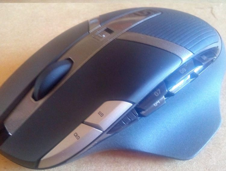 Logitech G602 Wireless Gaming Mouse, image 1