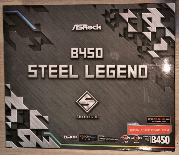 ASRock B450 Steel Legend AM4 ATX, image 2