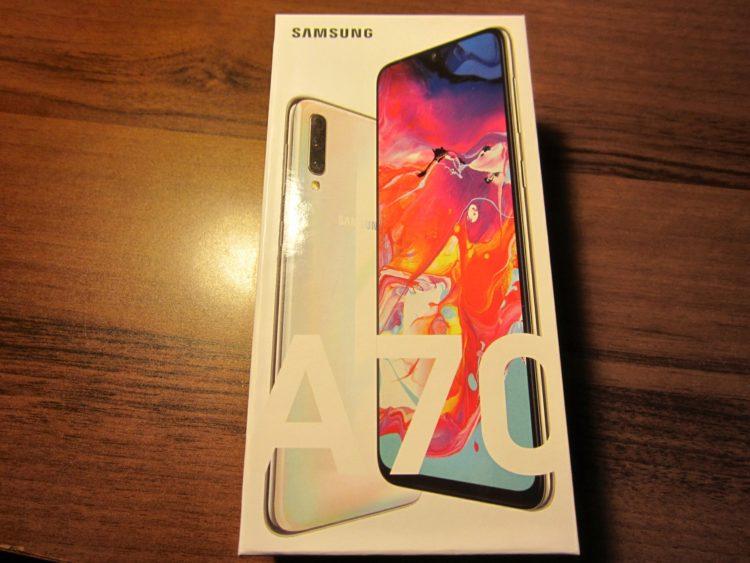 Samsung Galaxy A70 (2019) 128Gb White, image 2