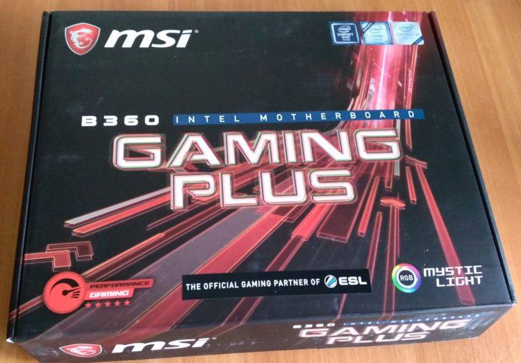 MSI B360 GAMING PLUS, image 2
