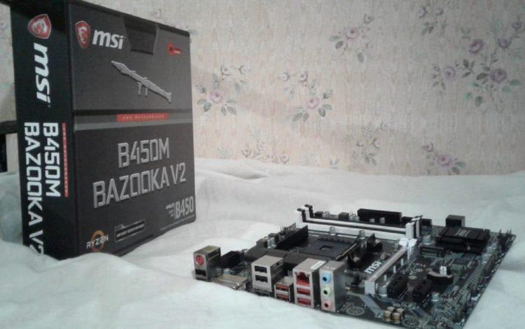 MSI B450M BAZOOKA V2, image 2