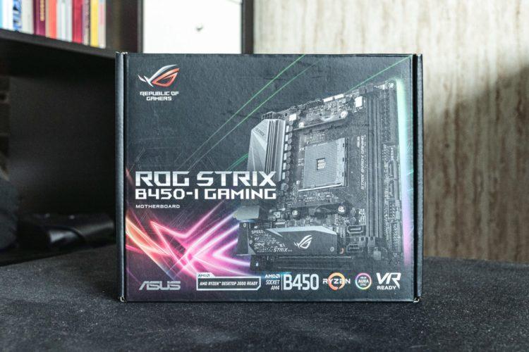 AM4 Asus ROG Strix B450-I Gaming Motherboard, image 2