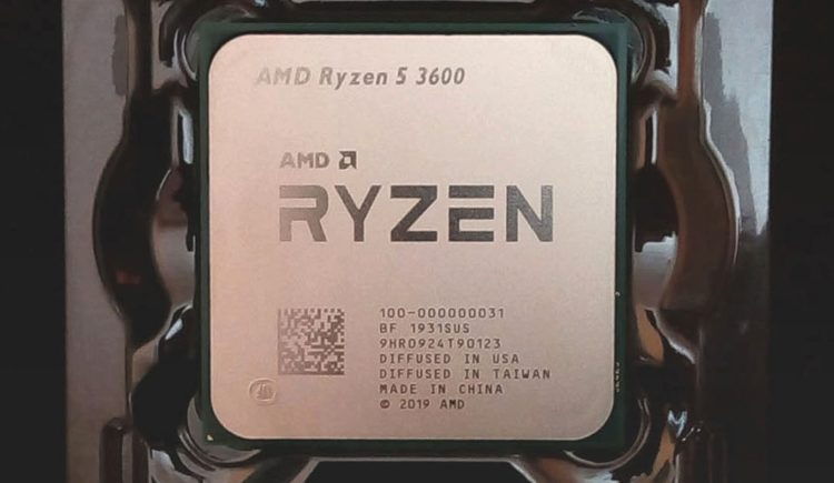 CPU AMD Ryzen 5 3600 AM4, image 2
