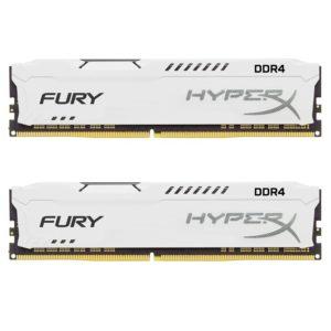 Kingston DDR4 16GB (2x8GB) 2666MHz PC-21300 HyperX FURY White HX426C16FW2K2/16
