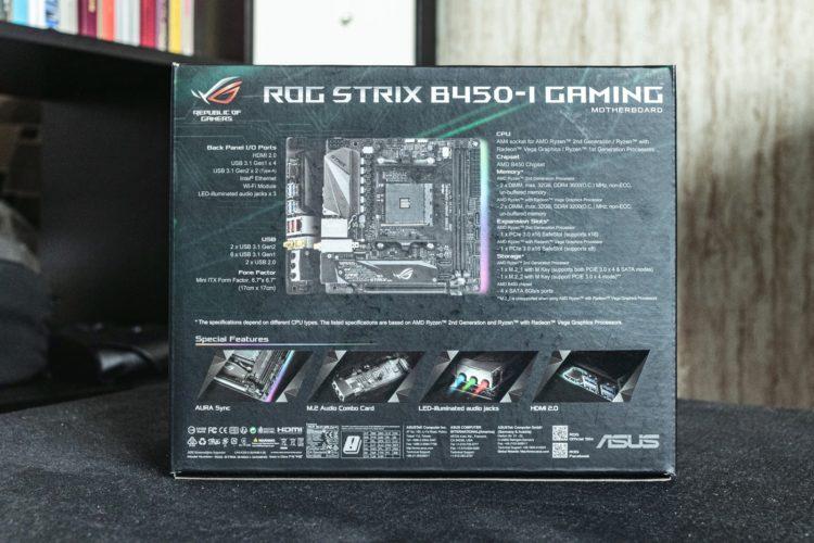AM4 Asus ROG Strix B450-I Gaming Motherboard, image 3