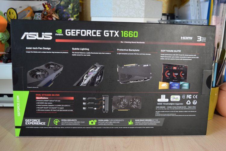 ASUS GeForce GTX 1660 6GB Dual EVO, image 3