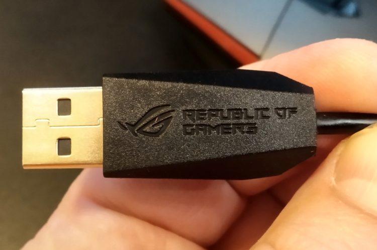 ASUS ROG Sica Steel Grey USB, image 3
