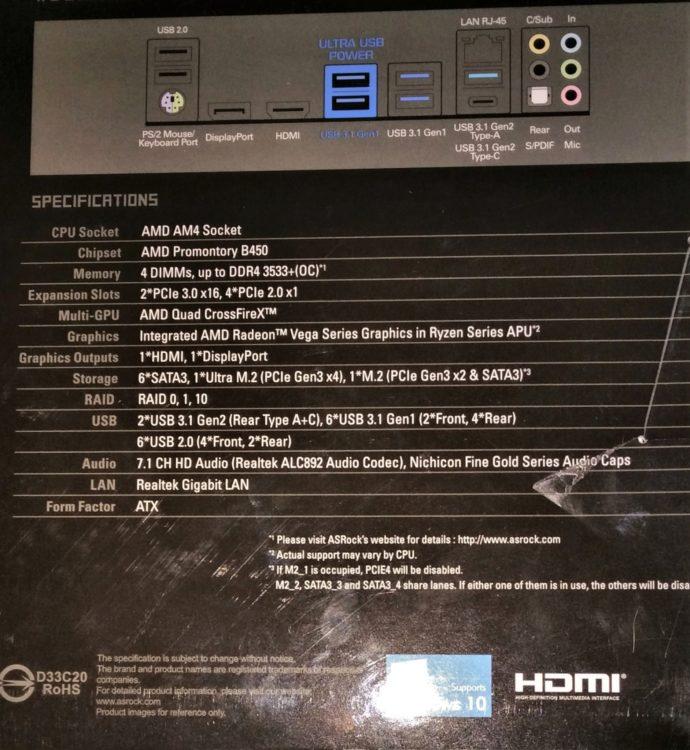 ASRock B450 Steel Legend AM4 ATX, image 4