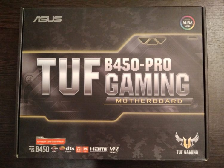 ASUS TUF B450-PRO GAMING, image 4