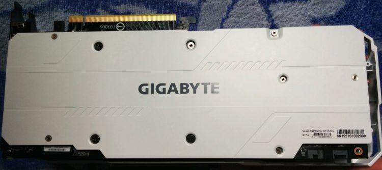 Gigabyte GeForce RTX 2070 8192Mb GAMING OC WHITE, image 4