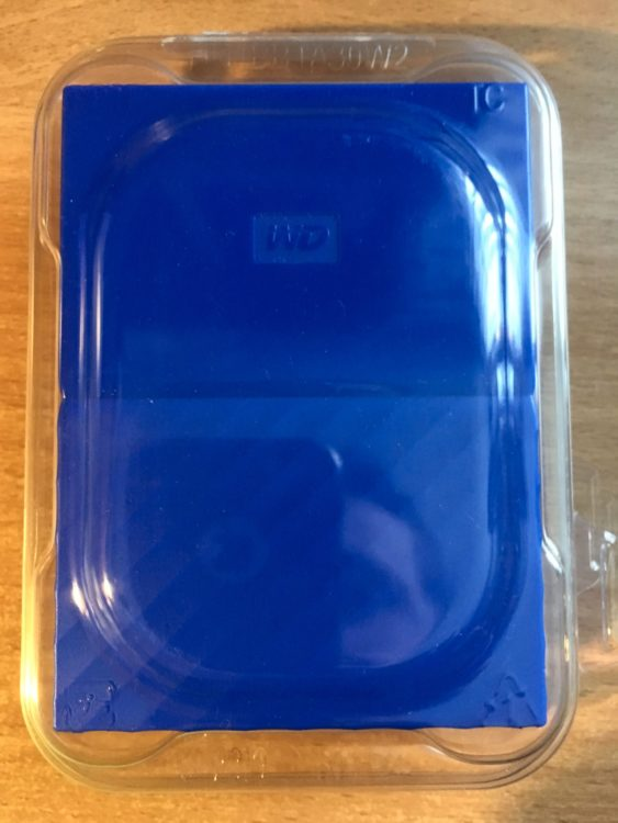 "Western Digital My Passport 2.5"" 4.0Tb USB 3.0 WDBUAX0040BBL-EEUE Blue Hard Drive, image 5"