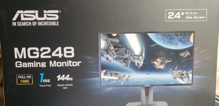 Asus MG248QR Gaming Monitor, image 6