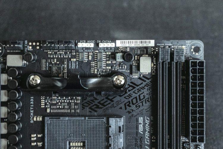 AM4 Asus ROG Strix B450-I Gaming Motherboard, image 7