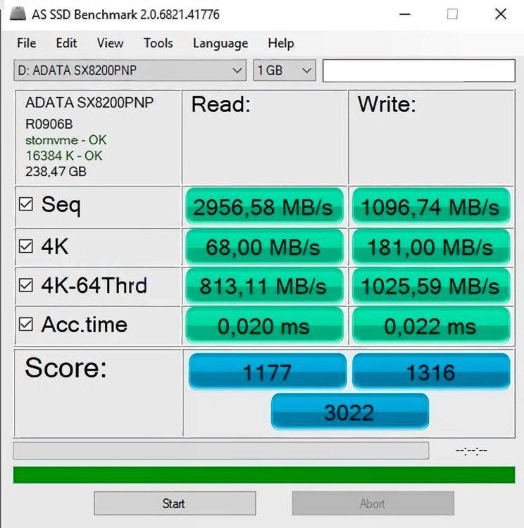 SSD ADATA M.2 XPG SX8200 Pro 256GB, image 7