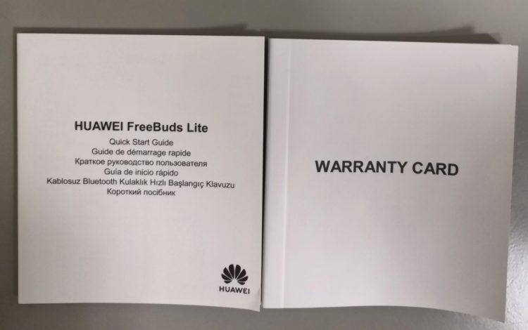 Bluetooth Headset Huawei Freebuds Lite, image 8