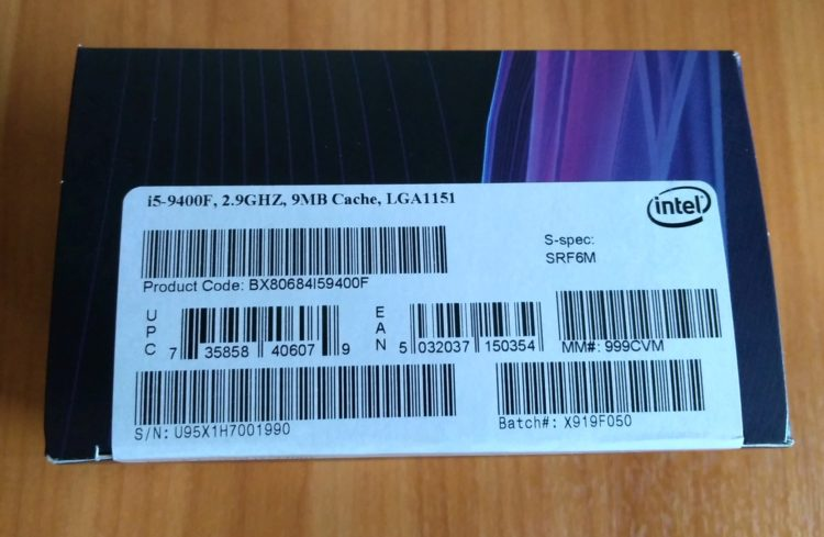 CPU Intel Core i5-9400F LGA1151 BOX, image 8