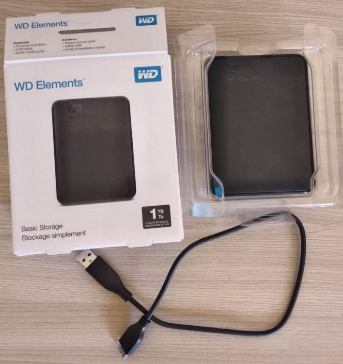HDD 1Tb WD Elements Portable Black 2.5 USB3.0 image 9