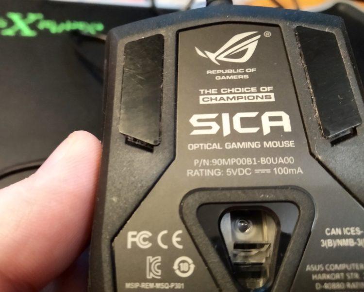 ASUS ROG Sica Steel Grey USB, image 9