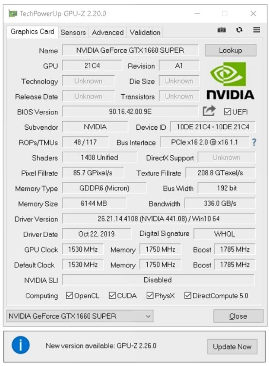 Palit GeForce GTX 1660 SUPER GP 6144Mb image 16