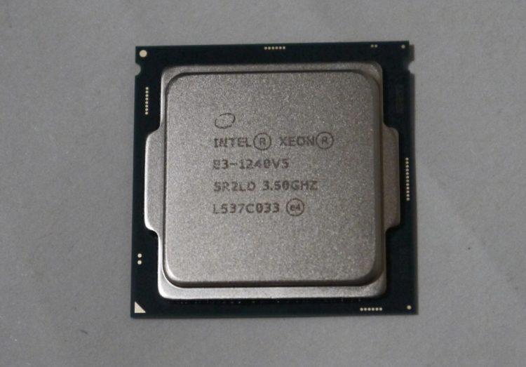 CPU Intel Xeon E3-1240 v5 (8M Cache, 3.5 GHz) LGA1151