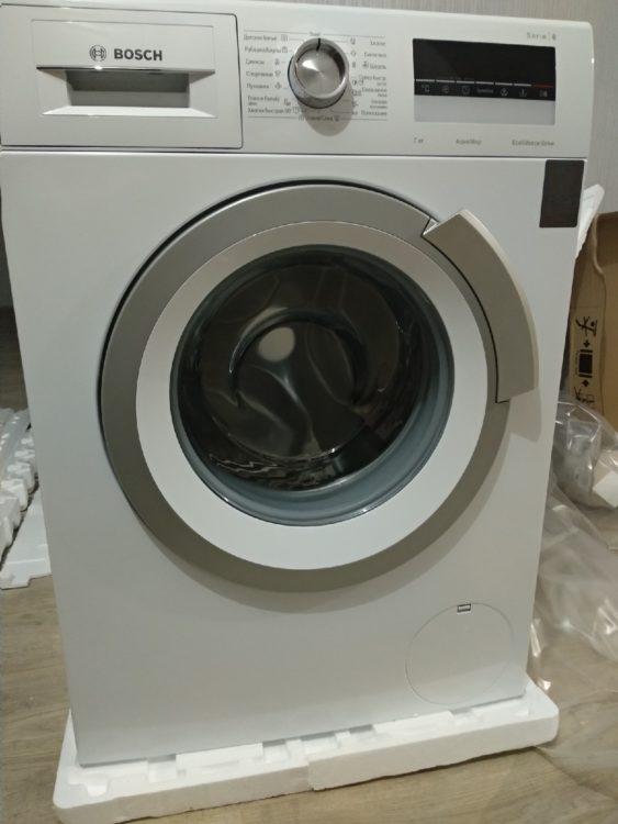 Washer Bosch WLL 24241, photo 1