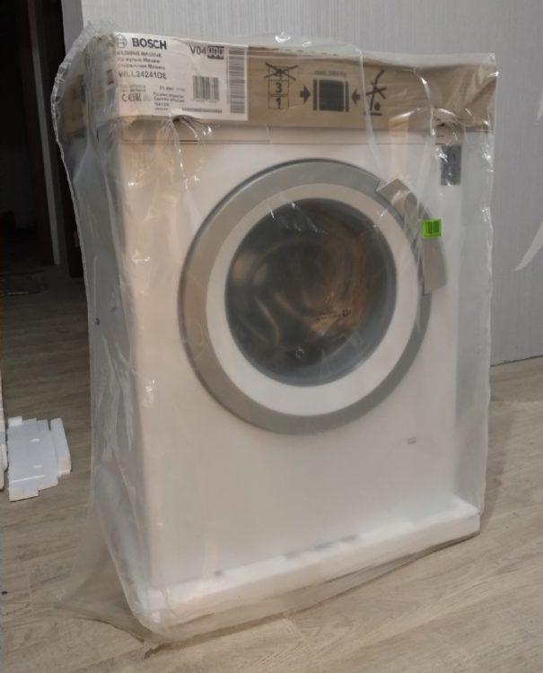 Washer Bosch WLL 24241, photo 3