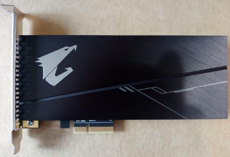 SSD Gigabyte PCI-E 3.0 x4 1000GB NVMe 1.3 3D NAND TLC (GP-ASACNE2100TTTDR), photo 4