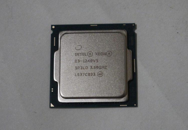 CPU Intel Xeon E3-1240 v5 (8M Cache, 3.5 GHz) LGA1151 image 5