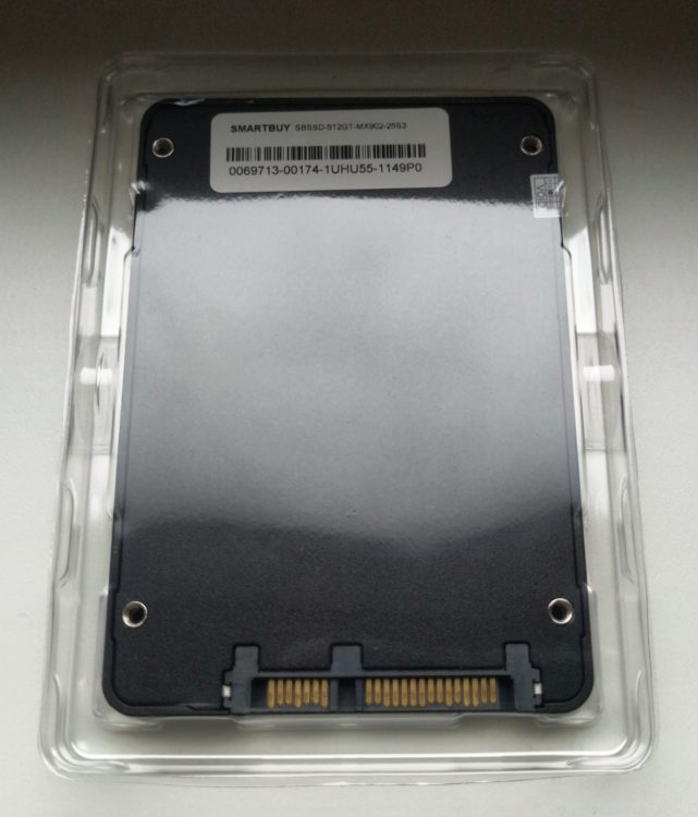 "SSD Smartbuy 2.5"" Splash 512GB SATA3 3D TLC NAND image 5"