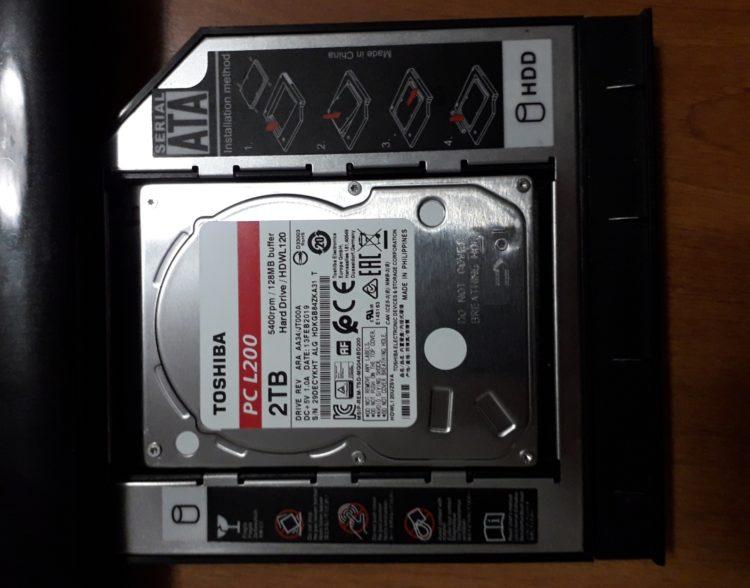 HDD 2.5 Toshiba L200 2TB SATA3 128MB 5400 rpm image 2