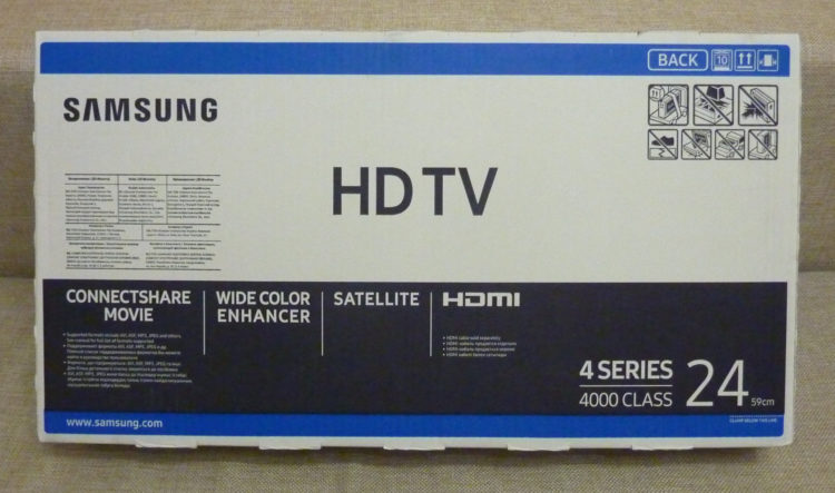 TV Samsung UE24H4070AU image 2